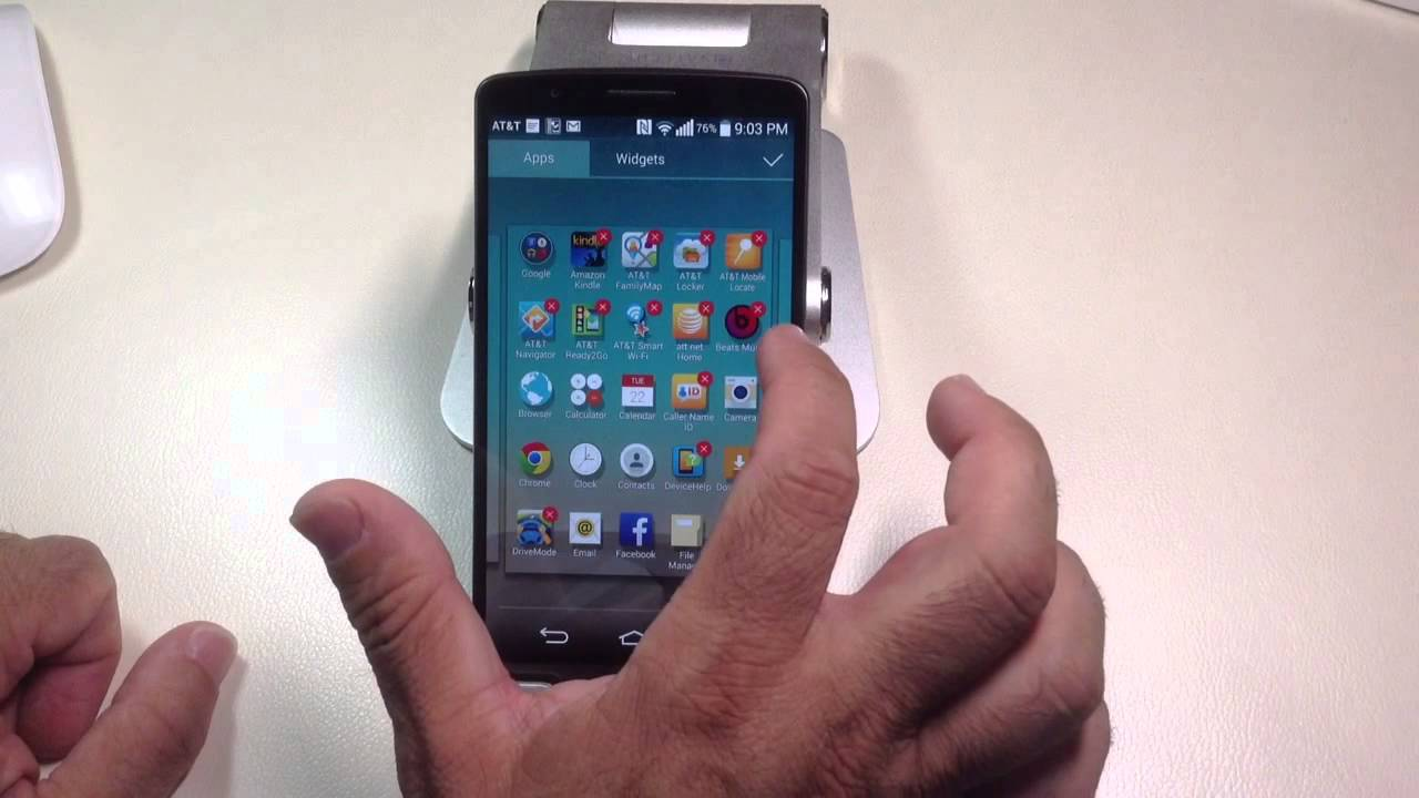 LG G3 Tips: How to uninstall apps quickly