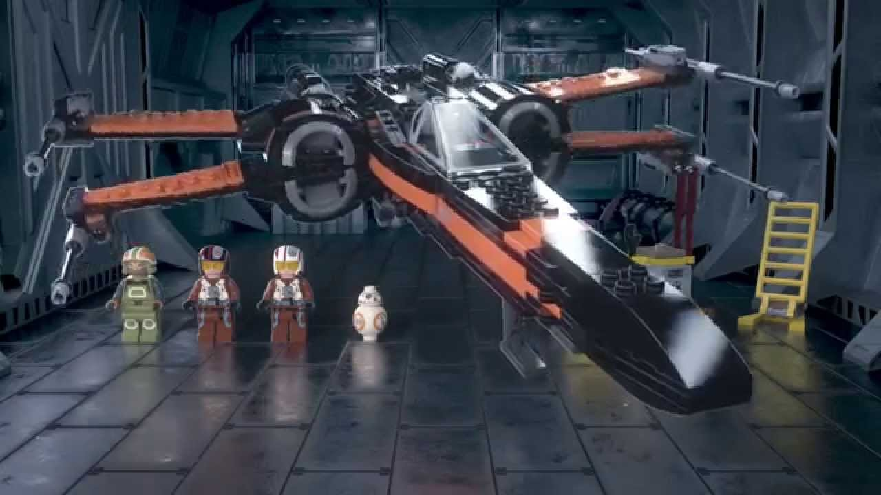 Lego star wars poe s x wing fighter review 75102 youtube - Lego Star Wars 75102 Poe S X Wing Fighter 3d Review