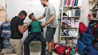 תרחיש שבץ מוחי-פדיקר המרכז הישראלי להדרכה רפואית