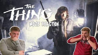 The Thing (1982) INCREDIBLE MOVIE REACTION! | FIRST TIME WATCHING!!