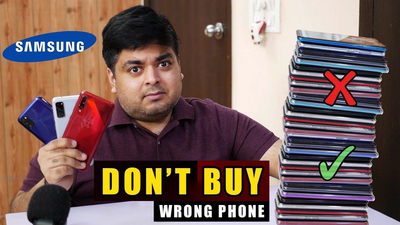 BEST SAMSUNG PHONES TO BUY IN 2020   Don't Buy Wrong Phone