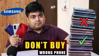 BEST SAMSUNG PHONES TO BUY IN 2020 | Don't Buy Wrong Phone