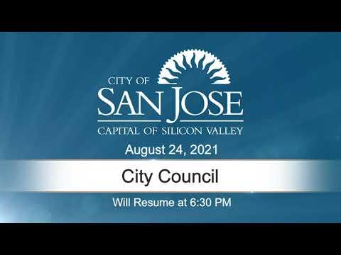 AUG 24, 2021 | City Council, Evening Session