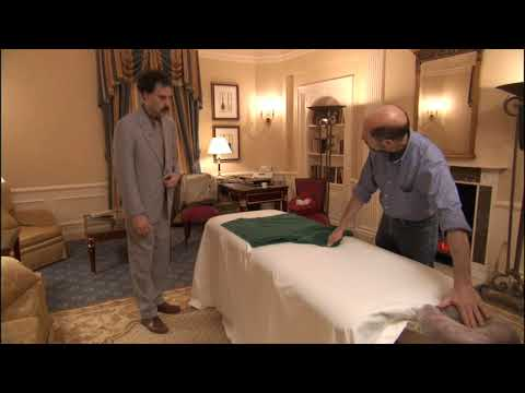 Borat has a massage - YouTube