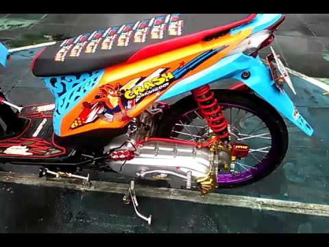 Beat Thailook FI Modifikasi Street Racing