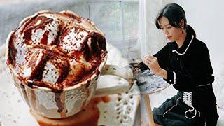 Publication Date: 2019-01-10   Video Title: 夏厨 219 刷爆ins的焦糖布丁遇上脏脏热可可,即将承包你