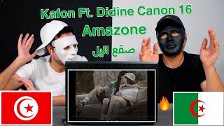 Kafon Ft. Didine Canon 16 - Amazone / Egyptian Reaction صقع الليل 🇹🇳 🇩🇿