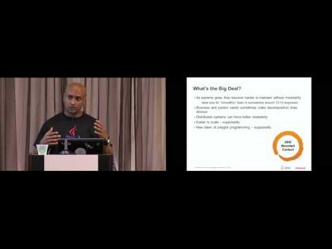 CON2577   Down to Earth Microservices with Java EE