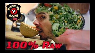 What I Eat on 100% Raw Vegan High GREENS to Heal All Disease