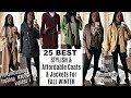 TOP 25 FALL / WINTER COATS & JACKETS 2018 | 2019 (AFFORDABLE)