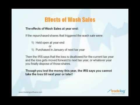 Webinar: Wash Sales and the Active Trader