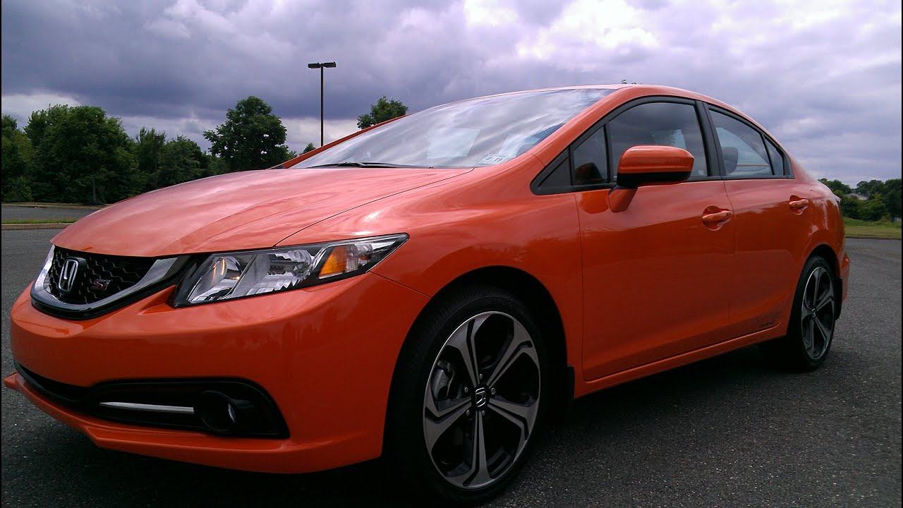 2014 Honda Civic Si Start Up Exhaust and In Depth Review  YouTube
