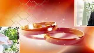 Шаблон Свадебный Пожелание жениху и невесте для ProShowProducer