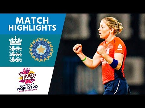 England v India - Women's World T20 2018 highlights