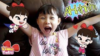 [행운의 편지]심심할때 라임튜브를 보는 신기한 방법! 라임송 인기동요 신비아파트 콩순이 장난감 놀이 Nursery Rhymes song | LimeTube & Toy 라임튜브