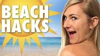 9 Hot Summer Beach Hacks
