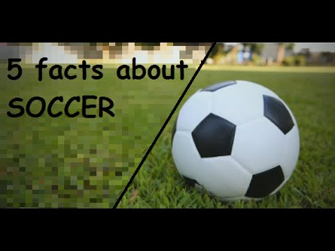 Information About >> 5 facts about soccer - YouTube