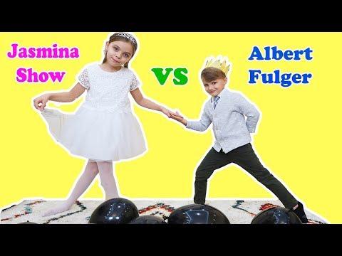 PRINT SI PRINTESA ! Challenge AMUZANT cu Printul ALBERT si Printesa JASMINA