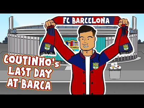 👋Coutinho's Last Day at Barcelona!👋 (Coutinho Bayern Munich