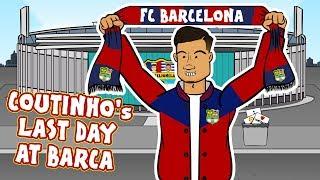 Coutinho Letzten Tag in Barcelona!  (Coutinho Bayern München Darlehen Parodie)