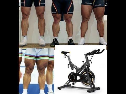 Бодитюнинг. День 18.0. Спинбайк. Мышцы ног. Велотренажёр для силы, массы и рельефа мышц бедра.