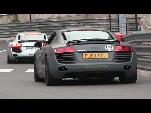Audi From Supercars Of London In Monaco Stopped By The Police