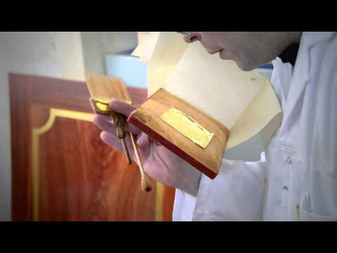 The arts and crafts specialists of Versailles - Gilding on metal