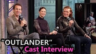 OUTLANDER [Season 2] Cast Interview: Caitriona Balfe, Sam ...