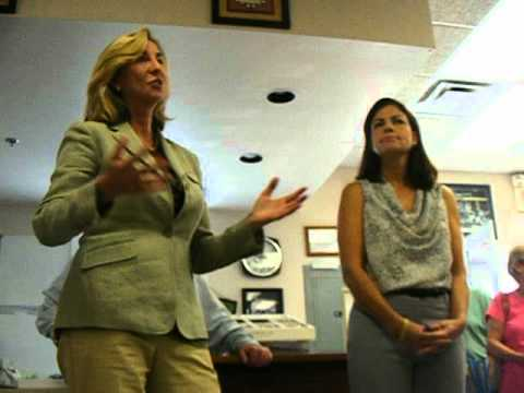 Kelly Ayotte Kerry Healey Hollis NH 9 7 12 Question on Spin