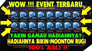 Event Rahasia Moonton Skin Gratis, Diamond Gratis, dan Hero Gratis | Mobile legends Indonesia