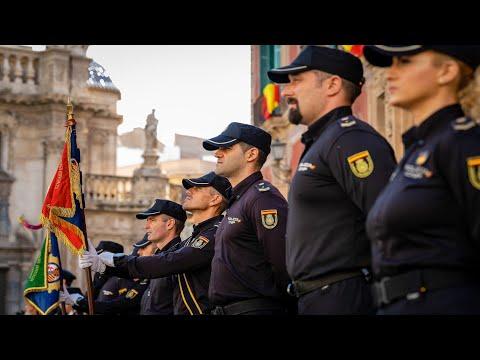 La Policía Nacional conmemora en Murcia su Patrón, día de los Santos Ángeles Custodios