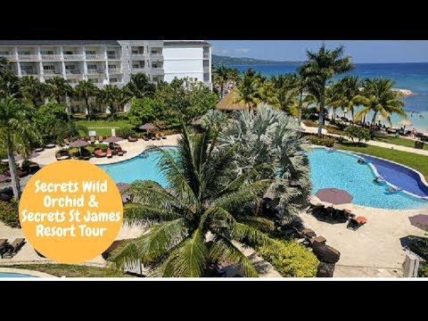 Secrets Wild Orchid and Secrets St James tour 2017