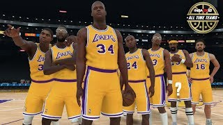 NBA 2K18 Official All Time Lakers Team Released + Kawhi Leonard Rating!