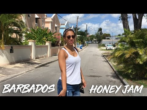 BARBADOS TRIP // HONEY JAM CONCERT (Jenna Bennett)