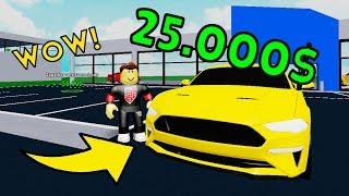 KUPIŁEM FORD MUSTANG GT ZA 25000$ W ROBLOX!