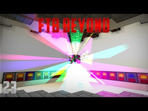 FTB Beyond EP23 Rainbow Generator Automation + 1 Billion Rf