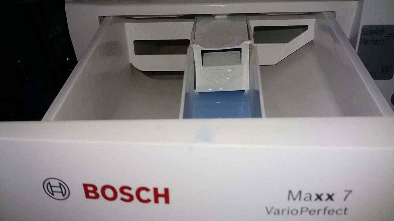 bosch maxx 7 vario perfect waschmaschine youtube. Black Bedroom Furniture Sets. Home Design Ideas