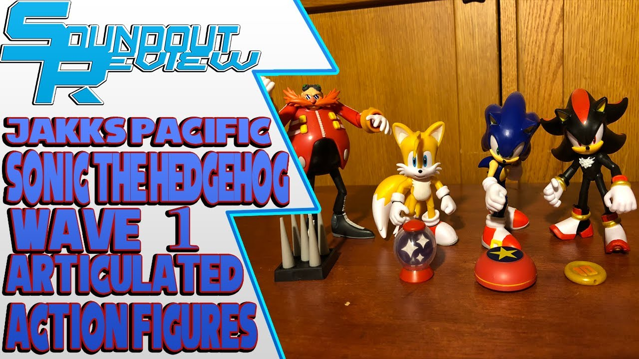 Sonic The Hedgehog Articulated Action Figures Wave 1 Jakks Pacific Soundout12 Youtube