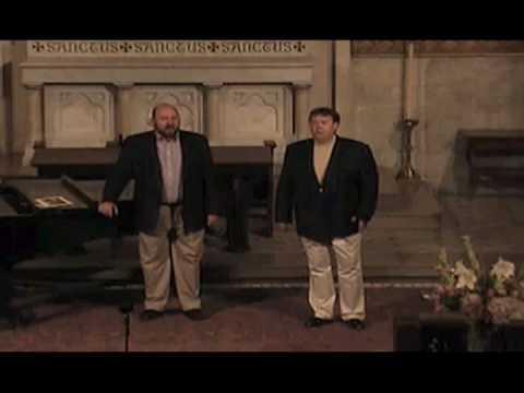 "G. F. Handel Judas Maccabeus Duet:  ""From this dread scene...""  Tim Linwood and David Schuster"