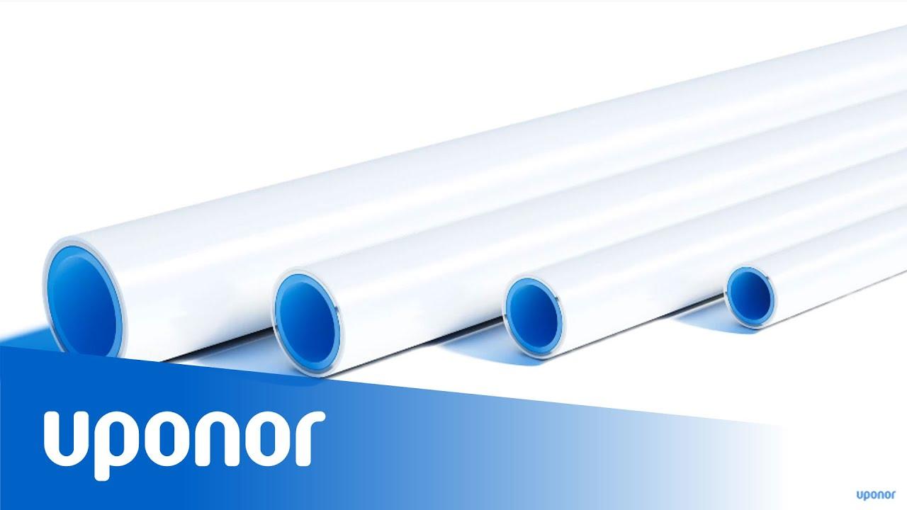 Uponor Unicor Uni Pipie PLUS 5-Schicht Verbundrohr Merhschicht Kunststoffverbund