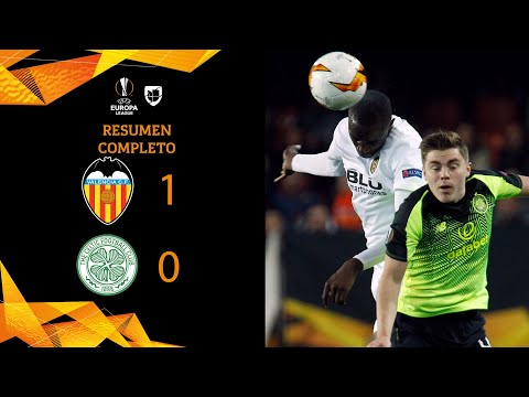 Valencia 1-0 Celtic - GOL Y RESUMEN – VUELTA DIECISEISAVOS DE FINAL – UEFA Europa League