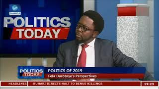 General Elections Money Will Fail In 2019 - Fela Durotoye Pt2 Politics Today