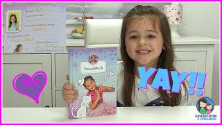 Ava schreibt in Miley's Freundebuch 💕 Geschichten und Spielzeug Familienkanal
