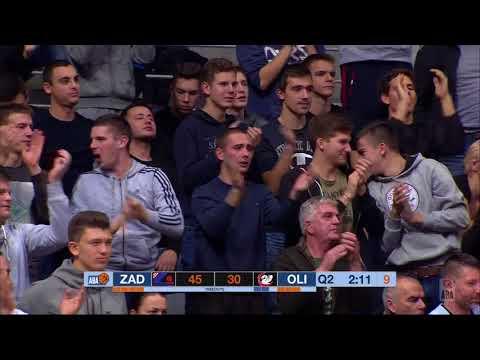 ABA Liga 2017/18 highlights, Round 11: Zadar - Petrol Olimpija (8.12.2017)