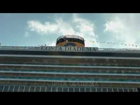 COSTA DIADEMA first arrival at Dubrovnik port