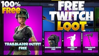 How to get NEW FREE SKINS in FORTNITE! Fortnite Exclusive Twitch Prime Pack #2 l 100% FREE