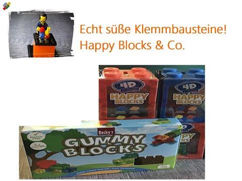 Echt süße Alternativ-Klemmbausteine! Happy Blocks & Co. ... it's not Lego 😂😂😂