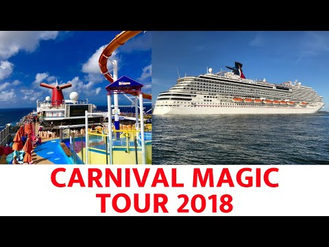 Carnival Magic Ship Tour (2018)