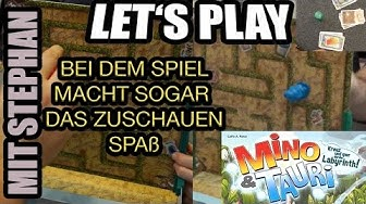 Mino & Tauri - Kreuz & quer durchs Labyrinth!: Lustiges Let's Play mit Stephan - schaut es euch an!