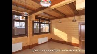 Интерьеры домов из клееного бруса(Заказать постройку деревянного дома вы можете нашем сайте: http://fr-dom.justclick.ru/brus Строительство деревянного..., 2013-08-02T16:22:23.000Z)